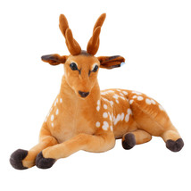 1 pc 30-50cm Simulation Deer Plush Toy Staffed Sika Deer Toy for Kids Ba... - $22.80