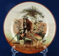"Royal Doulton Sir Roger de Coverley 6.5"" Bread Plate D3418 I-10 #6 - $12.00"