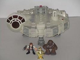 Hasbro 2001 Star Wars LFL Millennium Falcon w/Lights & Sounds **WORKS** - $49.49