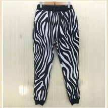 Designer Hollywood Zebra Print Marilyn Monroe Jogger Lounger Leisure Pants - $58.95
