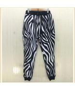 Designer Hollywood Zebra Print Marilyn Monroe Jogger Lounger Leisure Pants - $58.95