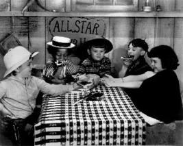 Little Rascals Our Gang Table 11 Vintage 11X14  BW TV Memorabilia Photo - $12.95