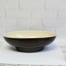 "Pfaltzgraff Cafe Latte Brown Cream Oval Vegetable Serving Bowl Dish 9 7/8""  - $34.99"