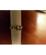 Sterling Silver 925 Blue Topaz Ring Size 6 stamped (A by JH) Designer Hardy - $132.19