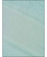 "Sea Blue 18"" Deluxe Fingertip Towel 14ct 100% cotton cross stitch STS Cr... - $4.00"