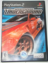 Playstation 2 - Need For Speed Underground (Complete with Manual) - $15.00