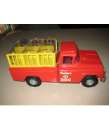 Vintage Red Buddy L Traveling Zoo Pressed Steel... - $80.00