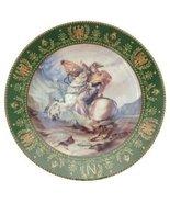Josephine et Napoleon de Boulme Bonaparte traversant les Alpes Plate CP2141 - $54.43