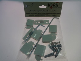 Kirsch LockSeam Curtain Rod projection extensions - $12.99
