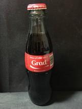 Coca Cola  GLASS Bottle FULL 8 Oz Share A Coke With A GRAD - $9.49