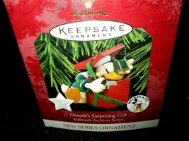 Hallmark Archive Series Keepsake Donald's Surprising Gift NIB w/Card Mic... - $11.87
