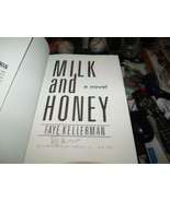 Milk and Honey SIGNED by Faye Kellerman 1ST/1ST (1990, Hardcover) - $51.29