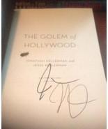 The Golem of Hollywood SIGNED by Jonathan & Jesse Kellerman ARC ADVANCED... - $79.33
