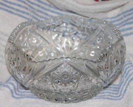 Vintage McKee Glass Crystal BOWL Kemple Martec ... - $24.77