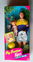 1996 BIG BROTHER KEN AND TOMMY BARBIE DOLL NEW NRFB - $38.61