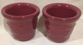 Longaberger Pottery Woven Traditions Paprika Se... - $11.76