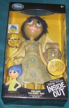 """Inside Out Deluxe Talking Joy Doll Authentic Disney Store 9.5 """" Brand New. - $39.59"""