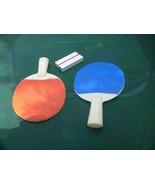 Vintage Russian Soviet USSR 1978 Mini Plastic Tennis Racquet Set Sport - $19.79