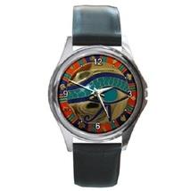 Egyptian  Eye of Horus Unisex Round Metal Watch Gift model 15462105 - $13.99