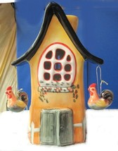 Candle Holder Rooster Candle House - $15.04