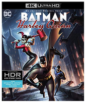 DCU: Batman and Harley Quinn  (4K Ultra HD+Blu-ray)