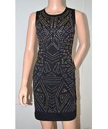 DEX $110 Embellished Black Dress Evening Night Cocktail Gown Medium M NE... - $69.27