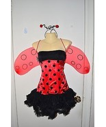 Sexy Ladybug Cosplay Theater Role Play Halloween Costume Adult sz S M Me... - $29.67