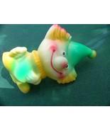 Vintage Russian Soviet Rubber Toy Rabbit Arlekino 1970 - $12.86