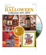 Just Cross Stitch Halloween 2011- 2014 Collection DVD magazine issues - $22.50