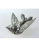 BIRD Vintage BROOCH Pin in STERLING Silver by JEWELART - 1 3/8 inches -F... - €57,30 EUR