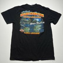 Men's Harley Davidson Graphic Bayou Thunder Lightning Crocodile T shirt ... - £25.14 GBP