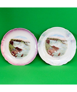 "Set of 2 Vintage Made In Germany 6 1/2"" Niagara Falls Souvenir Plates - $8.95"