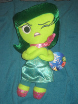 Inside Out DISGUST 12 inch Plush Toy 2015 Disney Pixar Movie Brand New. - $19.79