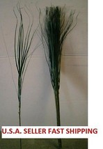 49 STEMS OF GREEN ONION GRASS WHOLESALE, WHOLESALE SILK FLOWERS, FREE SH... - $19.00