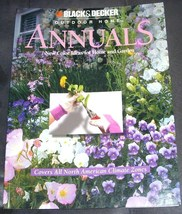 Black & Decker Outdoor Home ANNUALS Book NEW! - $6.96