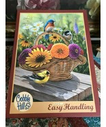 Cobble Hill Puzzle SUMMER BOUQUET Artist Rosemary Millette 275 LG Easy H... - $51.98