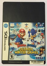 Nintendo DS Mario & Sonic At the Olympic Winter Blockbuster Artwork Disp... - $5.00