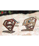 Superman hollow cufflinks 01 thumbtall