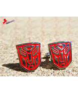 Transformer red cufflinks 01 thumbtall