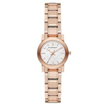Burberry BU9204 The City Rose Gold Ion Plated Ladies Watch 26 mm - Warranty - $317.00
