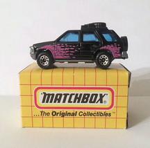 Matchbox MBX 1995 MB56 Isuzu Rodeo Black Thailand - $6.72