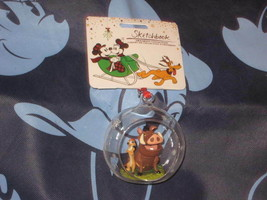 Disney Store Timon and Pumbaa Sketchbook Ornament. Brand New.  - $29.69