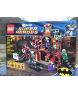 Lego # 6857 DC Super Heroes Batman Dynamic Duo Funhouse Escape Factory S... - $74.50