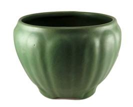 Zanesville Pottery matte green jardiniere plant... - $25.00