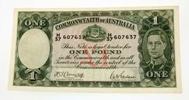 1942 Australia un Dollaro Scegliere #26b extra Sottile Condizioni - $396.01