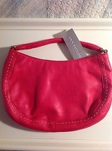 Ann Taylor Pink Leather Hobo Purse w tags - $50.00
