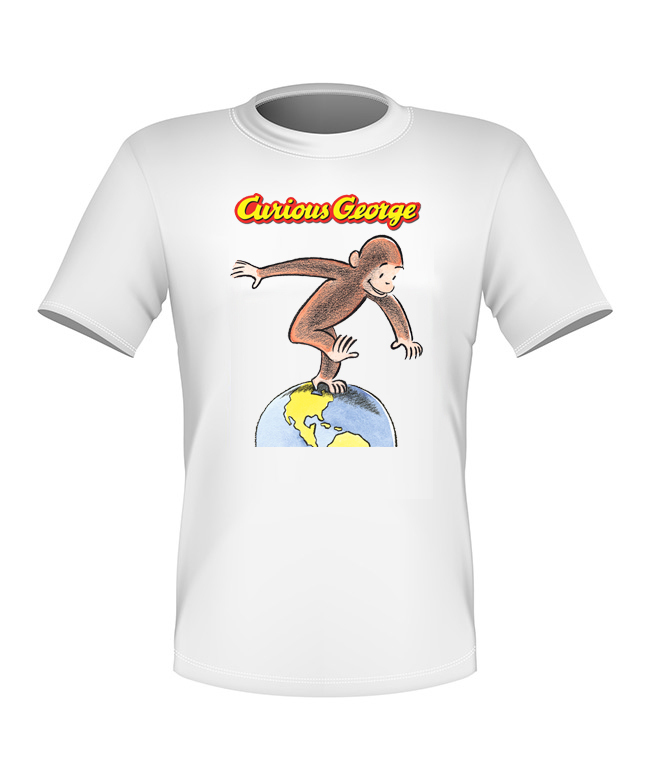 Very Nice Curious George T-shirt *NEW* Classic All Sizes, used for sale  USA