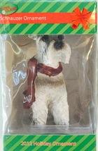 2012 Schnauzer Holiday Ornament ** Brand New ** - $42.00