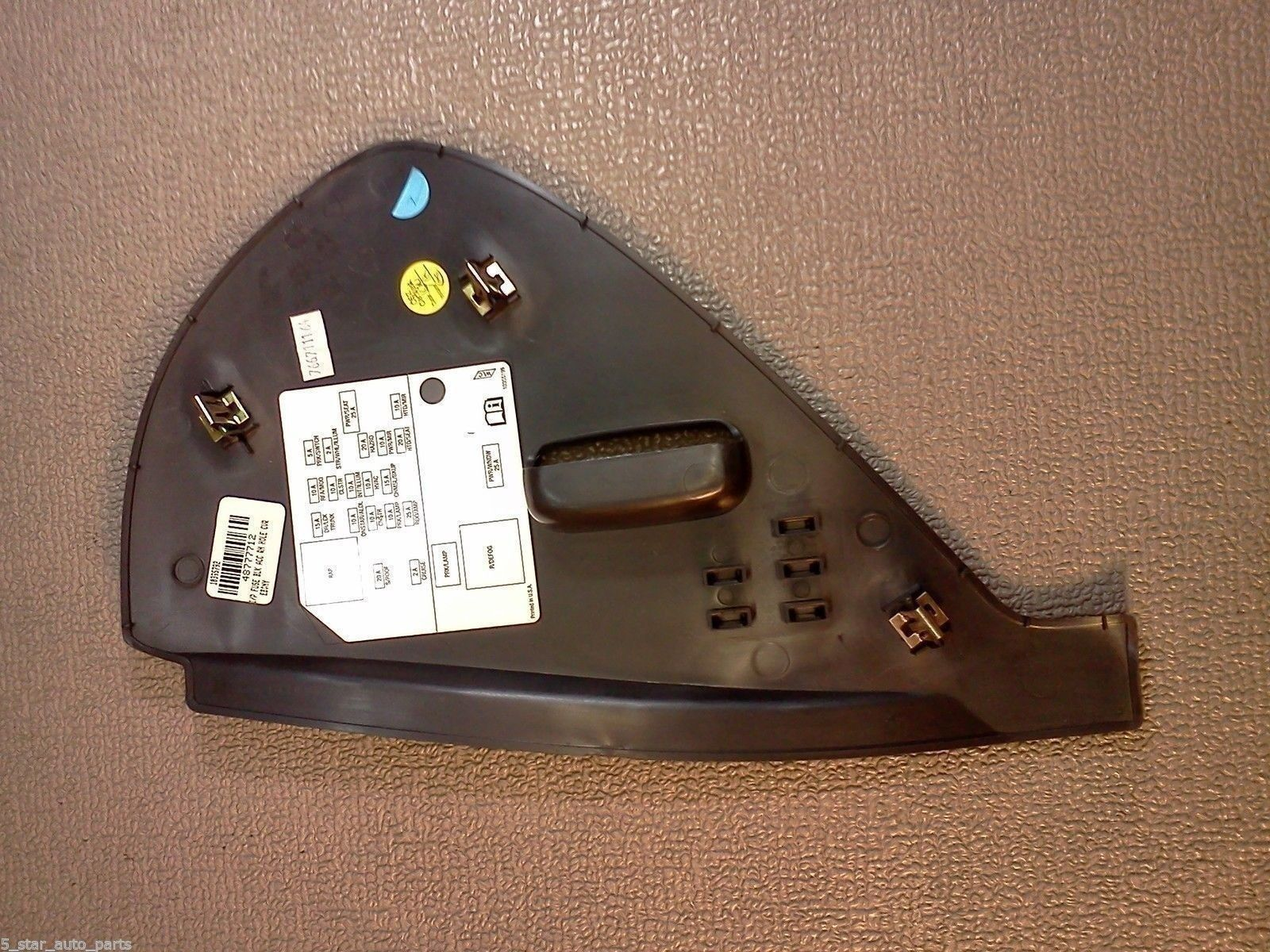 Buick Lucerne Fuse Box Dash Cover 2006 2007 And 14 Similar Items 06 2008 2009 2010 2011 Color Black