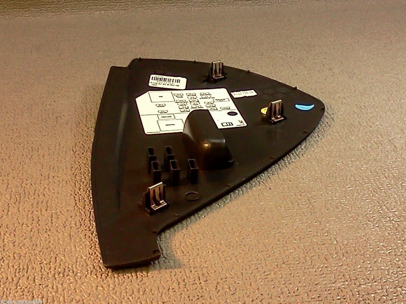 ... Buick Lucerne Fuse Box Dash Cover 2006 2007 2008 2009 2010 2011 Color  Black ...